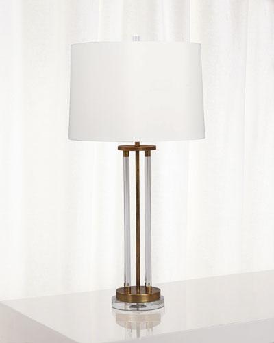 Modern Brass Lamp