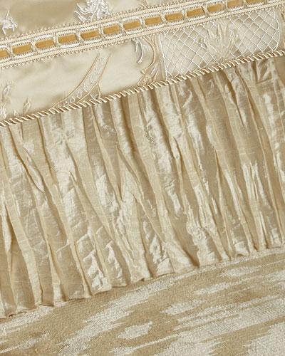 Charlotte California King Silk Dust Skirt