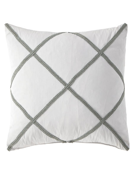 "Hannah Decorative Pillow, 18""Sq."
