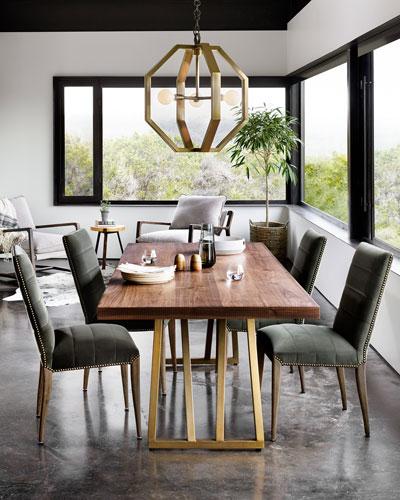 Lorne Velvet Dining Side Chair