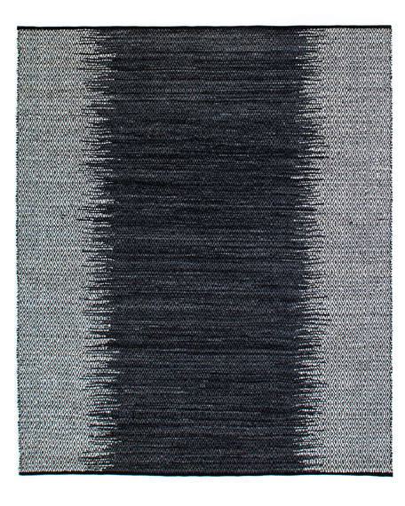 Eli Leather Ombre Rug, 8' x 10'