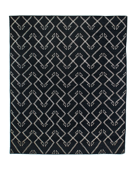 Cam Hand-Loomed Dhurrie Rug, 9' x 12'