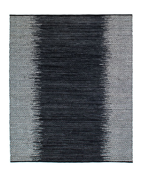 Eli Leather Ombre Rug, 9' x 12'