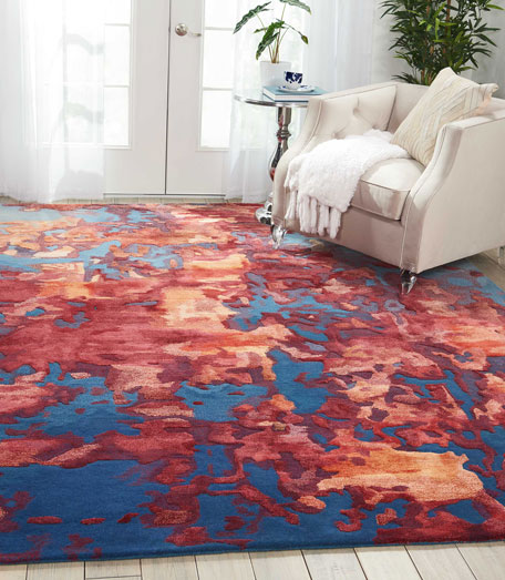 "Kincaid Hand-Tufted Rug, 9'9"" x 13'9"""
