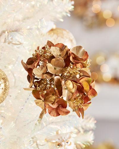 Christmas Gold Hydrangea Stem