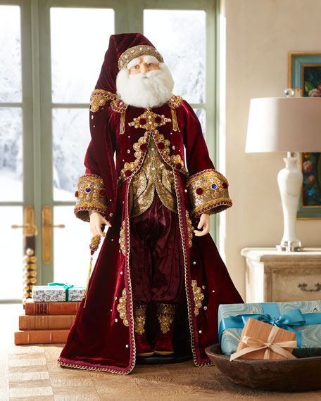 "Gifts Santa Figure, 32"""
