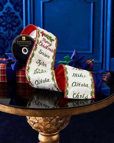 Santa's List Ribbon