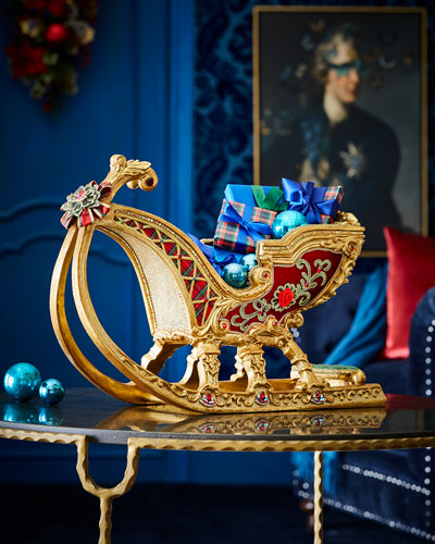 Christmas Wishes Tabletop Sleigh