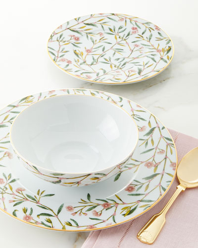 Amber 12-Piece Dinnerware Set