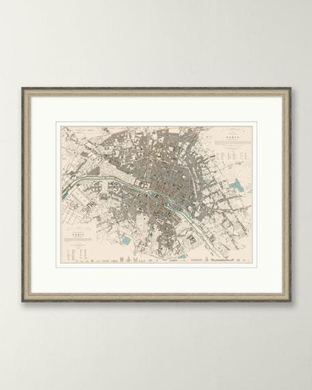 European Map - Paris
