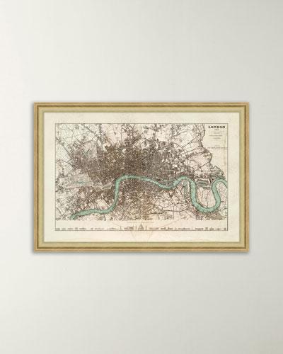 Antique London Map