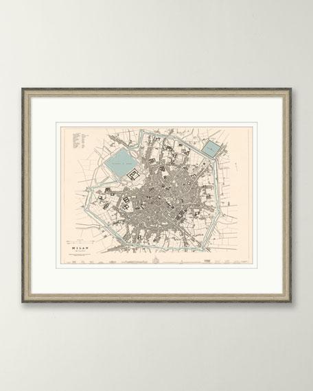 European Map - Milan