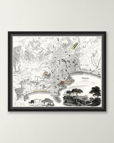 Italian Map Series - Naples