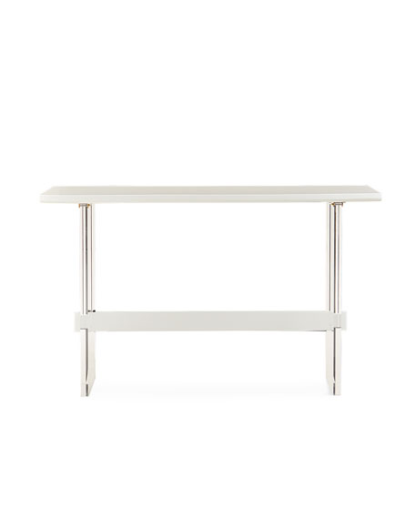 Quentin Bar Height Acrylic Table, 70""