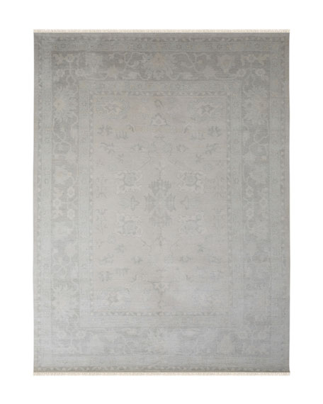 Hallewell Hand-Knotted Rug, 6' x 9'