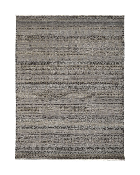 Harlan Hand-Knotted Rug, 9' x 12'