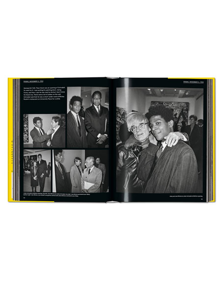 """Warhol on Basquiat"" Book"