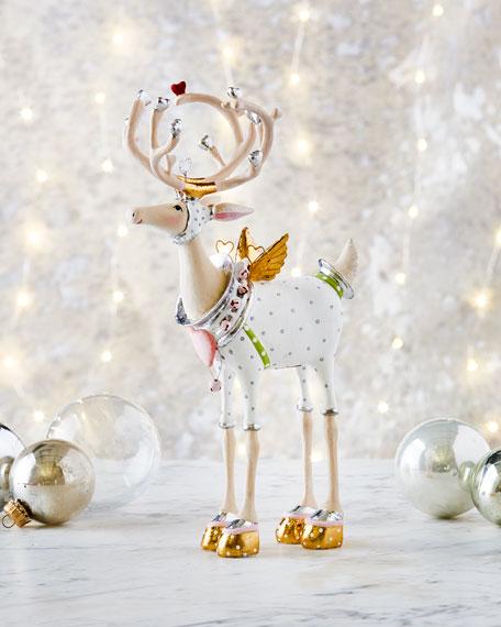 Moonbeam Cupid Reindeer Figurine
