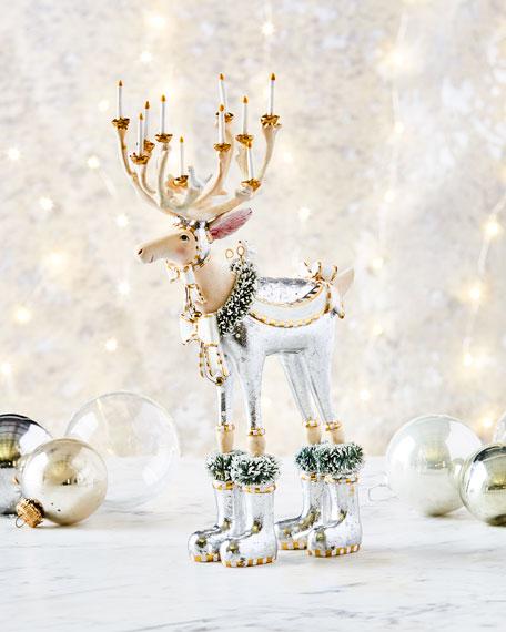 Dasher Reindeer Figurine