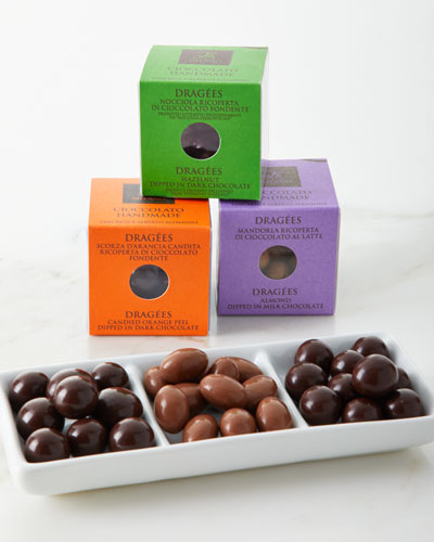 3-Piece Dragees Chocolate Gift Box