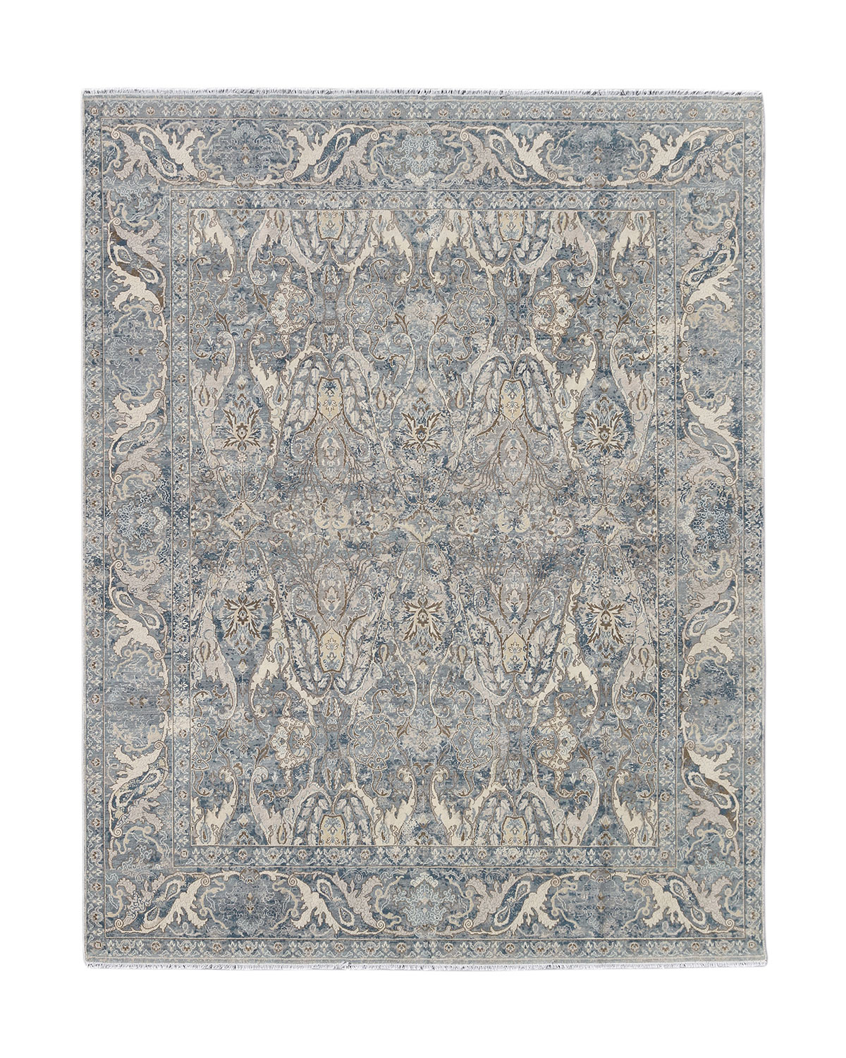 Dalton Hand Knotted Rug 10 X 14