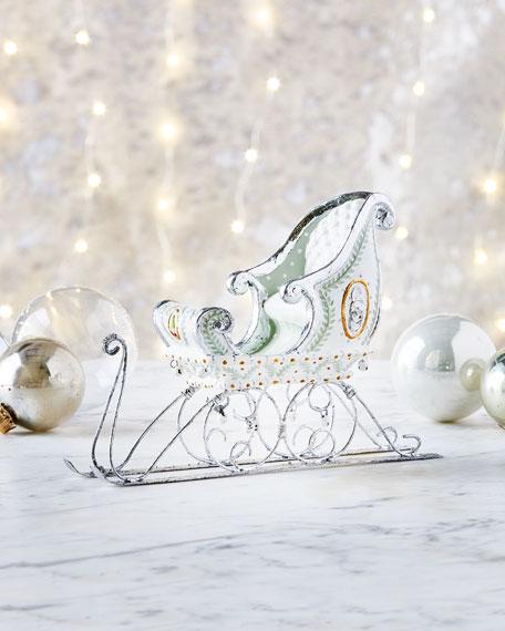 Moonbeam Sleigh Ornament