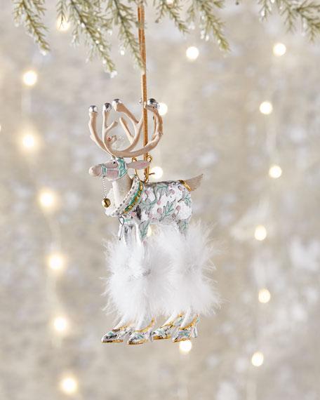 Moonbeam Vixen Reindeer Ornament