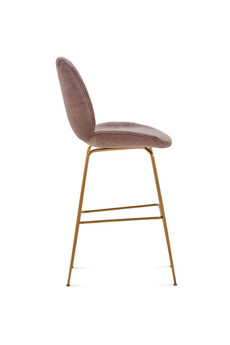 Luna Chenille Bar Stool