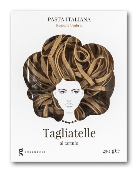 Greenomic Good Hair Day Tagliatelle al tartufo Pasta,