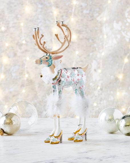 Moonbeam Vixen Reindeer Figurine