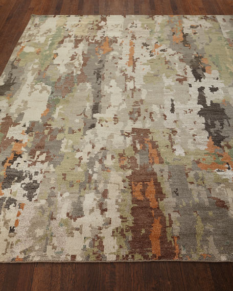 Lhasa Haze Hand-Knotted Rug, 8' x 10'