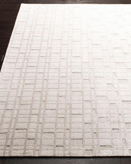 Austin Hand-Woven Rug, 6' x 9'