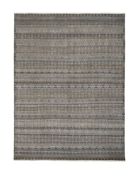 Harlan Hand-Knotted Rug, 6' x 9'