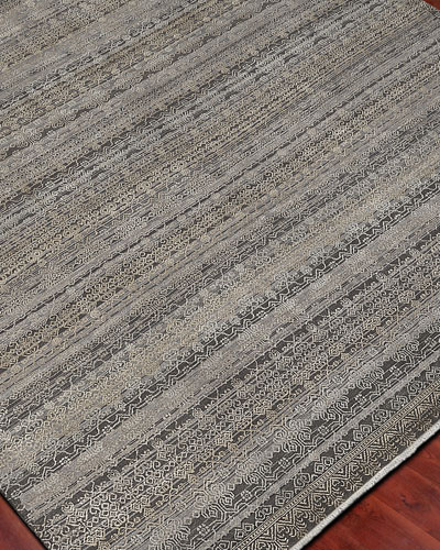 Harlan Hand-Knotted Rug  6' x 9'