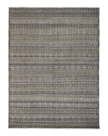 Harlan Hand-Knotted Rug, 10' x 14'