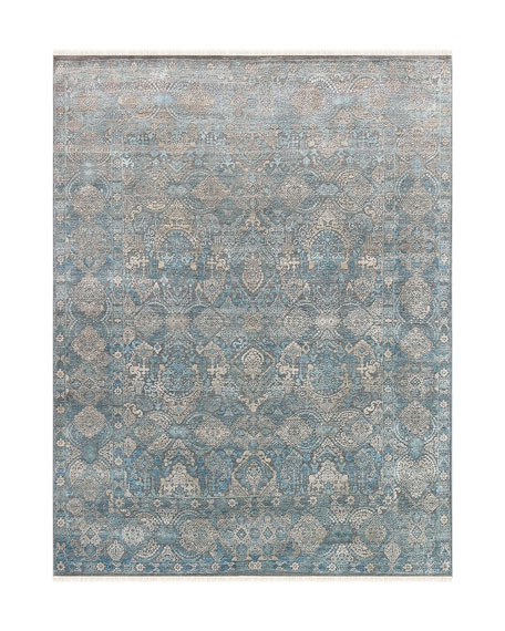 Lawrence Hand-Knotted Rug, 9' x 12'