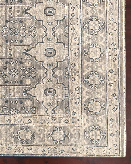 Dayton Hand-Knotted Rug, 6' x 9'