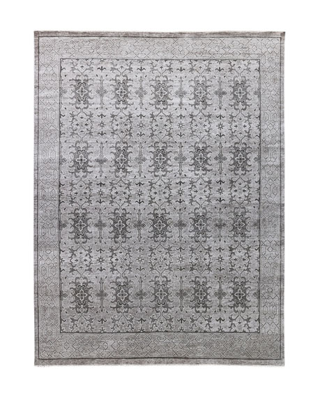 Charlton Hand-Knotted Rug, 6' x 9'