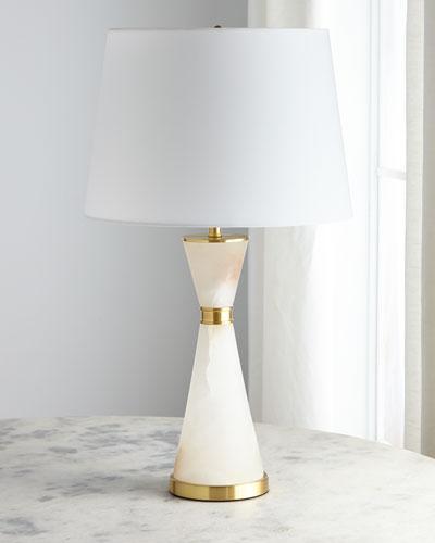 Alabaster Corset Lamp