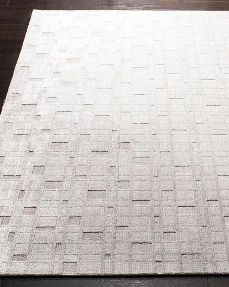 White Rock Hand-Loomed Rug, 6' x 9'