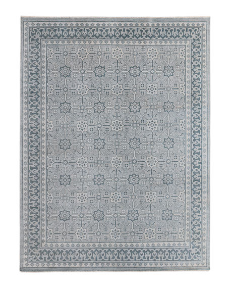 Roman Hand-Knotted Rug, 10' x 14'