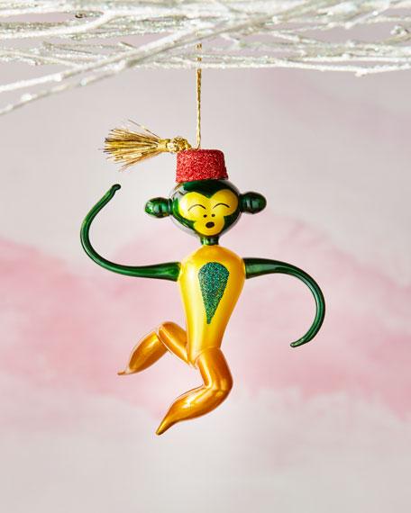 De Carlini Monkey Ornament
