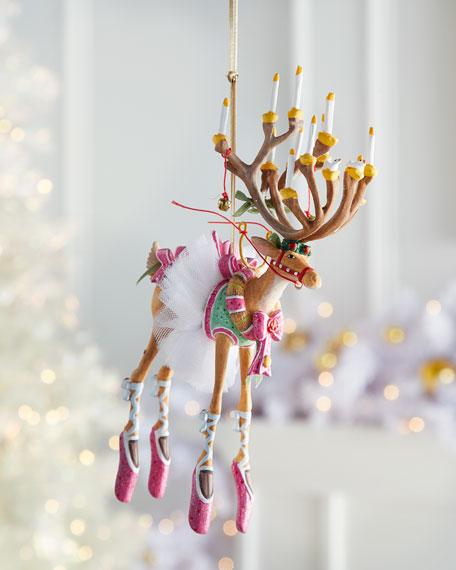 Dash Away Dancer Reindeer Ornament