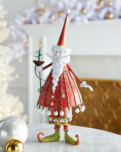 Dash Away Dashing Santa Figurine