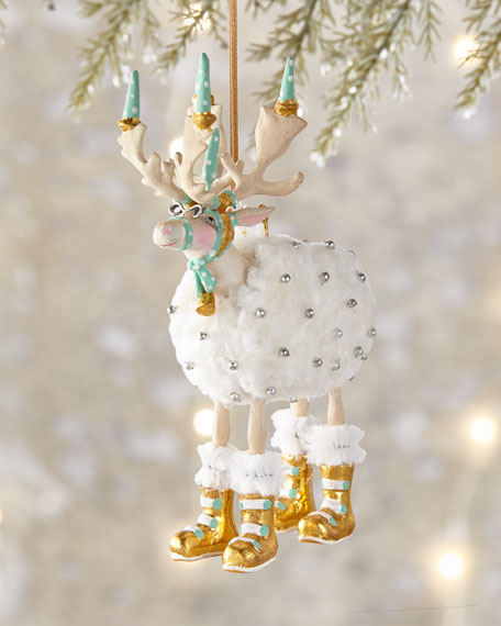 Moonbeam Blitzen Ornament