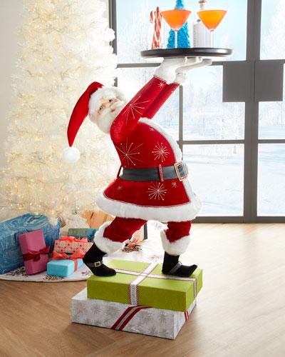 Santa Butler with Tray
