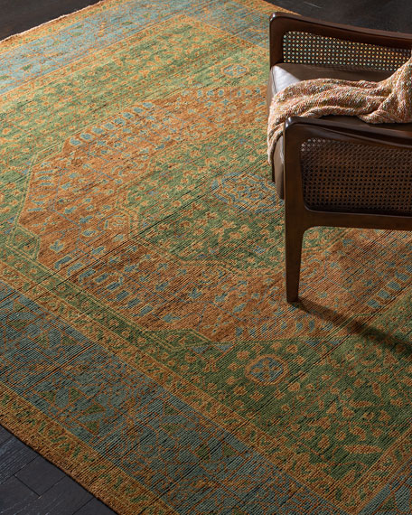 Barstow Hand-Knotted Rug, 6' x 9'