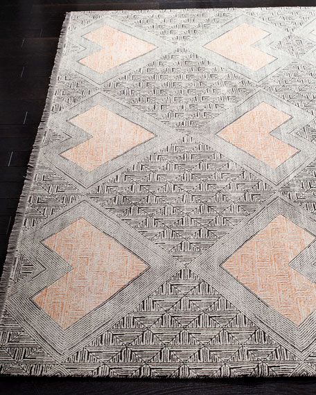 Cannon Hand-Knotted Rug, 6' x 9'
