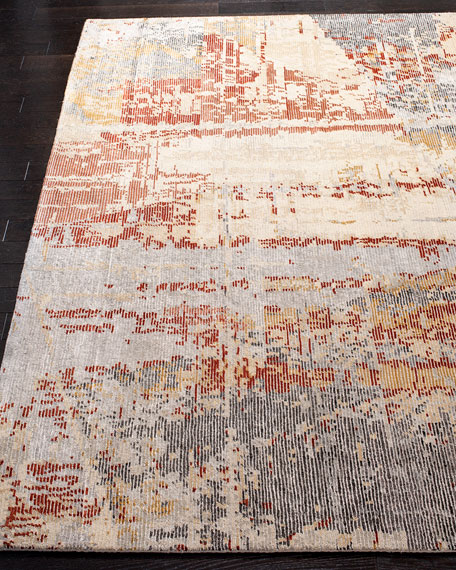 Bronny Hand-Knotted Rug, 9' x 12'