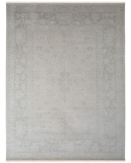 Hallewell Hand-Knotted Rug, 10' x 14'